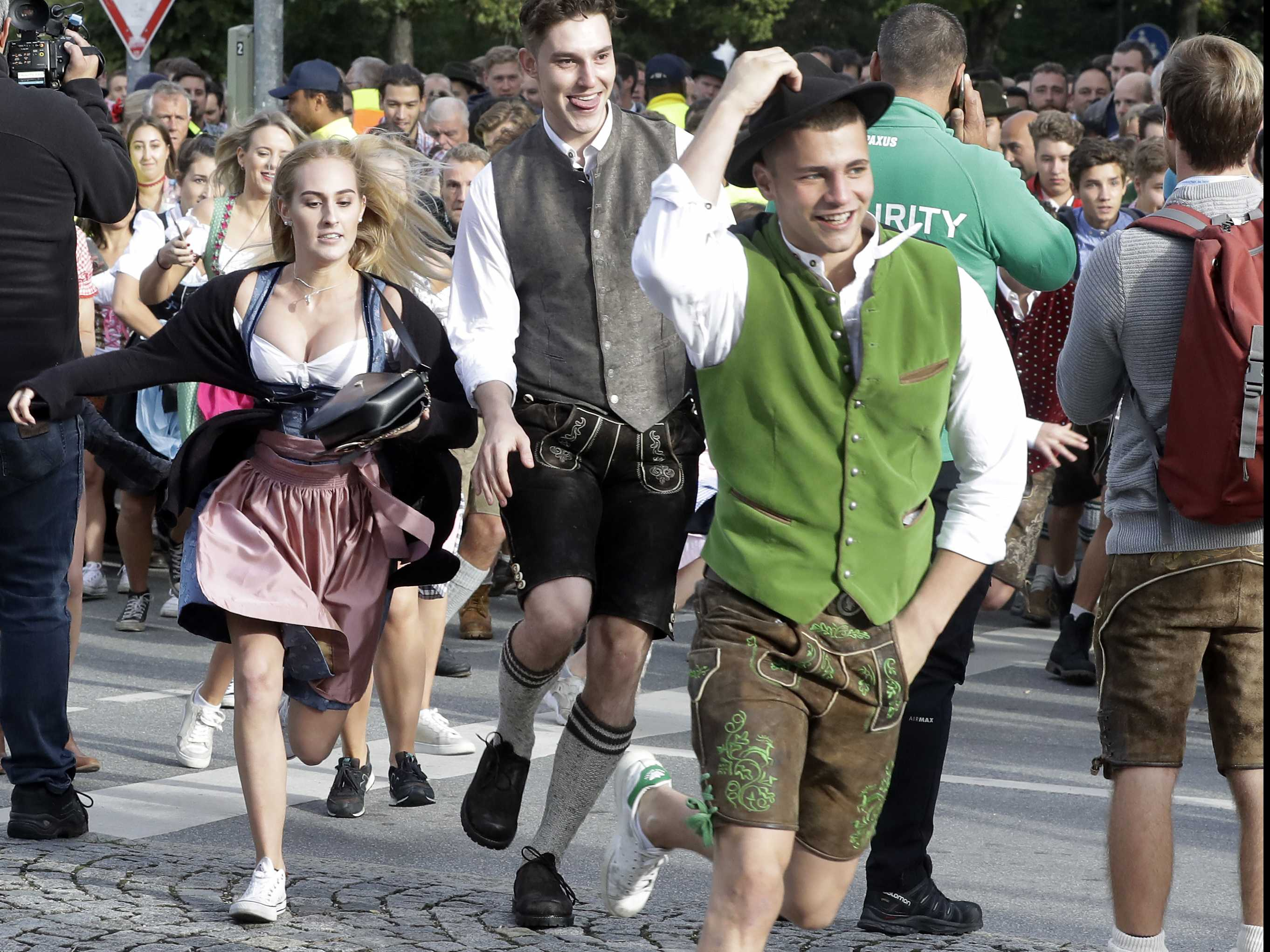It's Tapped: Beer Flows as Oktoberfest Opens in Munich