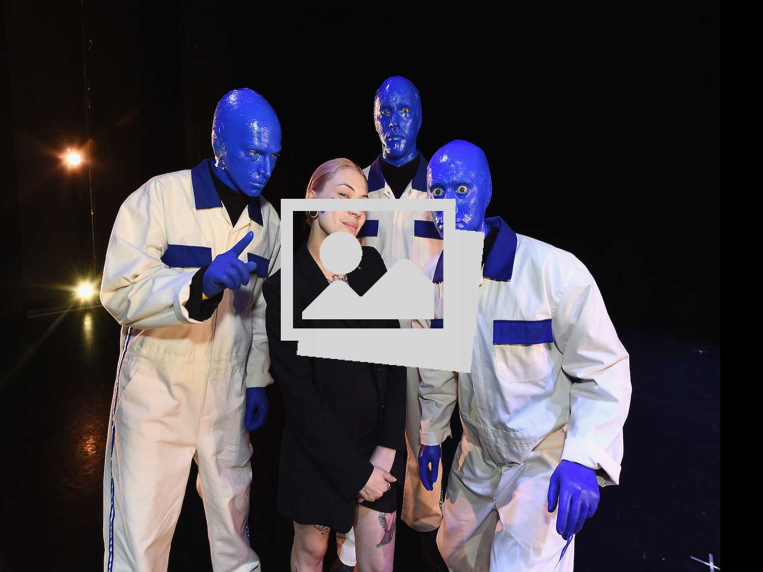 Project Runway's Helen Castillo Designs Blue Man Group-Inspired Jumpsuit
