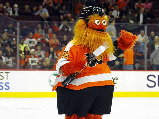Flyers Introduce Odd-Looking Mascot, Soak in the Comment