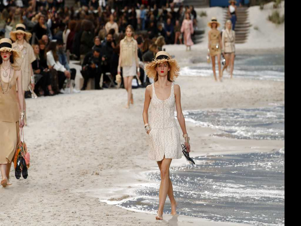 Chanel Creates Beach to Cap Paris Fashion Week