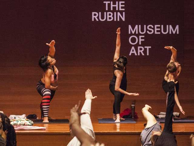 Museums Offer Yoga, Meditation Programs Along with Art