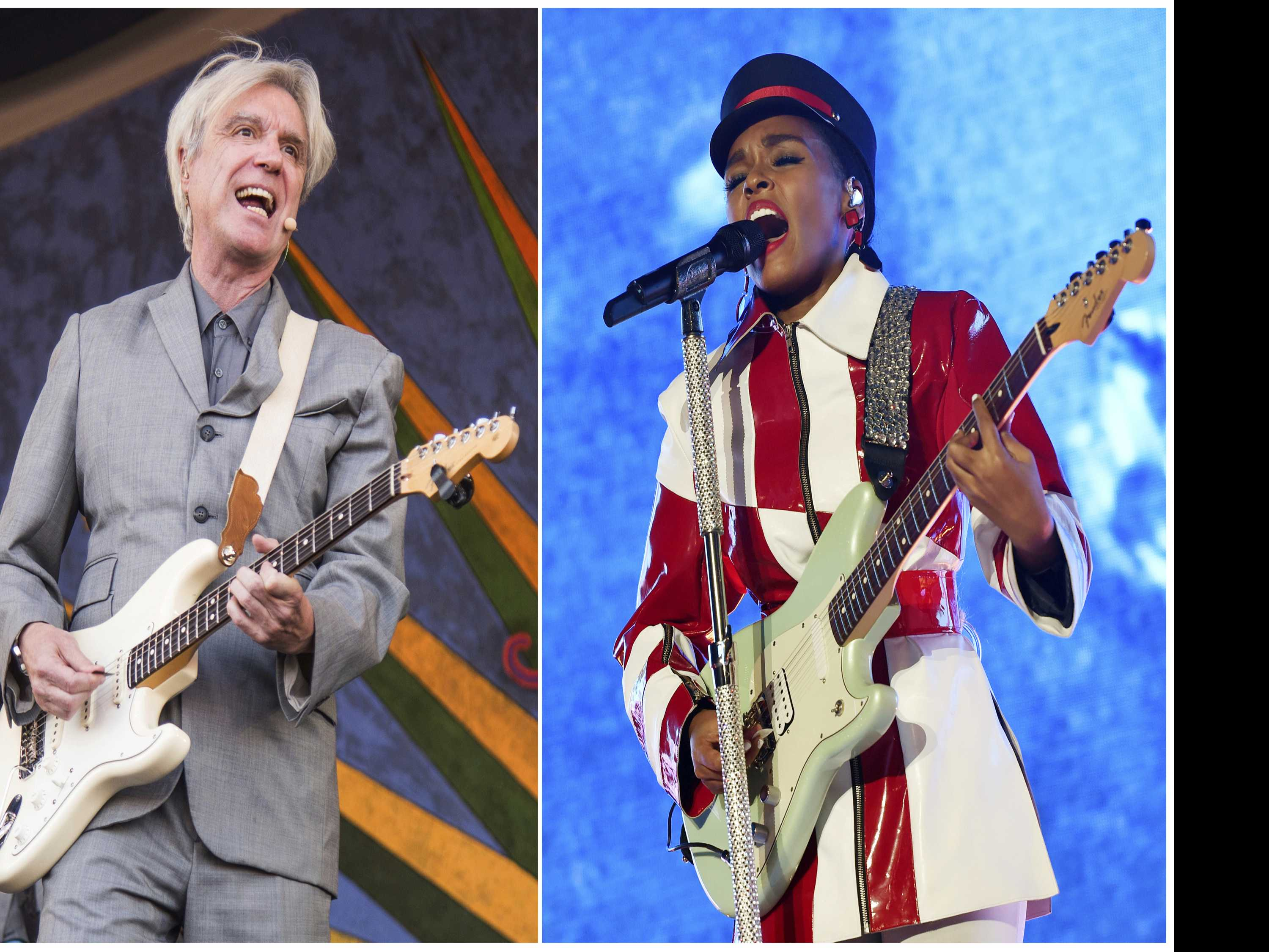 Why David Byrne Started Covering a Janelle Monae Song