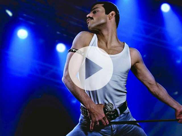 Watch: Rami Malek Turns into Queen's Freddie Mercury in New 'Bohemian Rhapsody' Clip