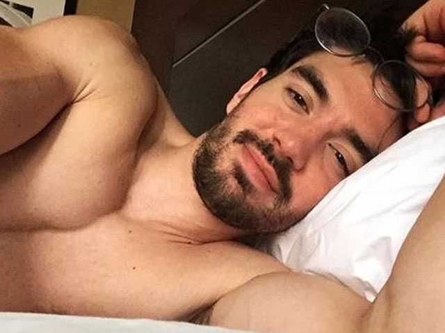 Out Country Singer Steve Grand Shows Off New Mustache on Instagram
