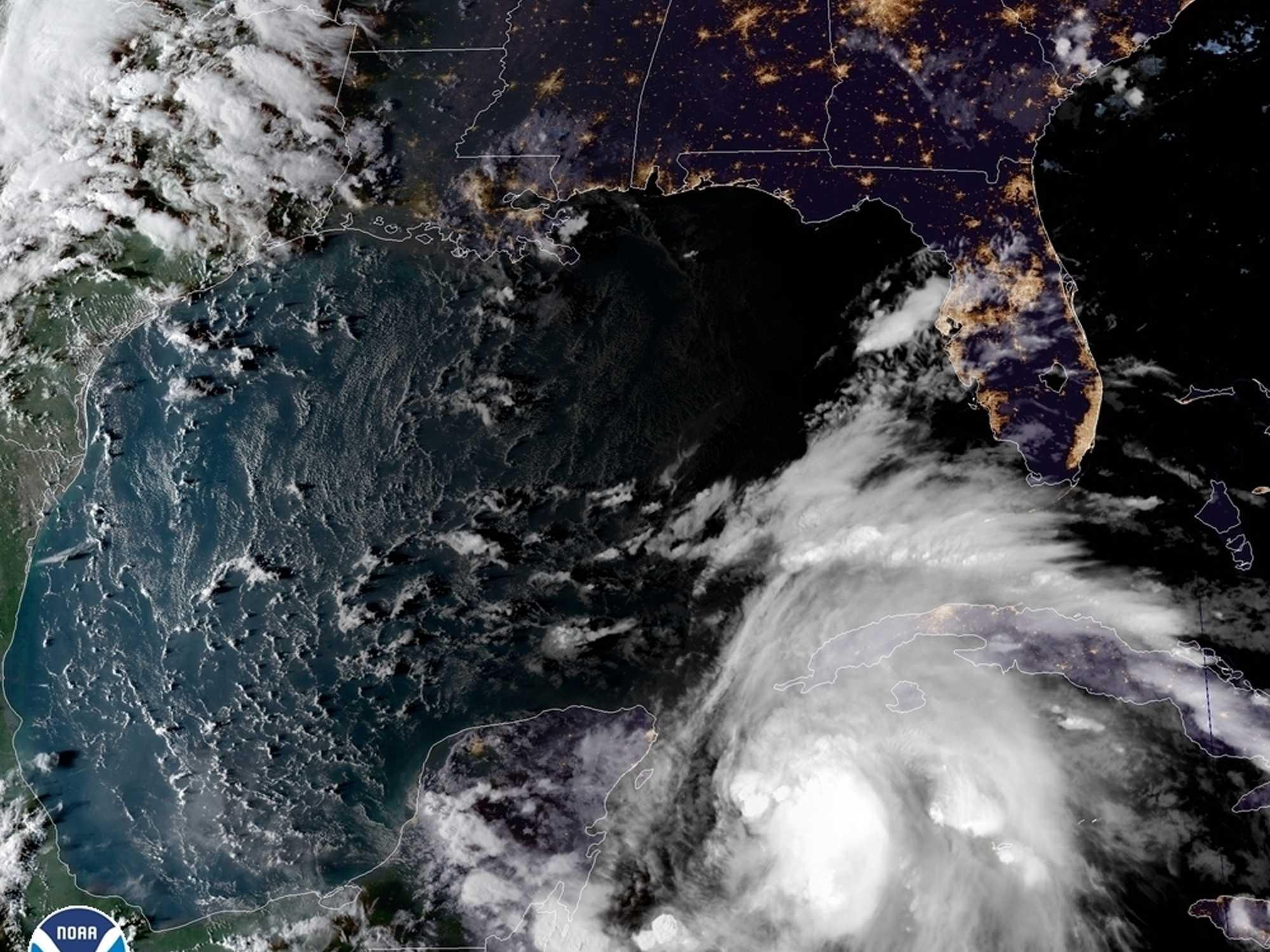 Still Far Off, Michael A Growing Menace To Florida Panhandle