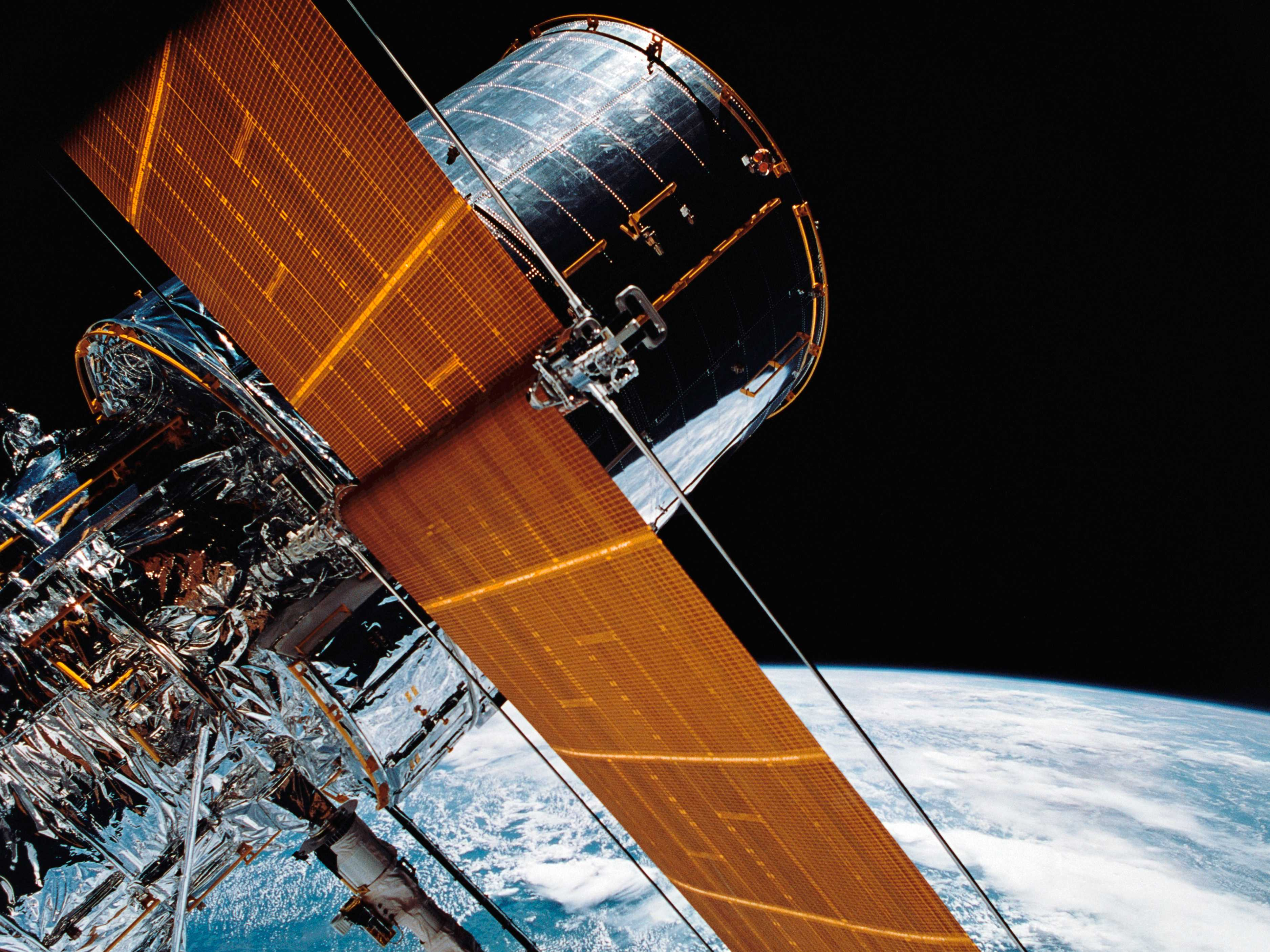 Hubble Space Telescope Sidelined by Serious Pointing Failure