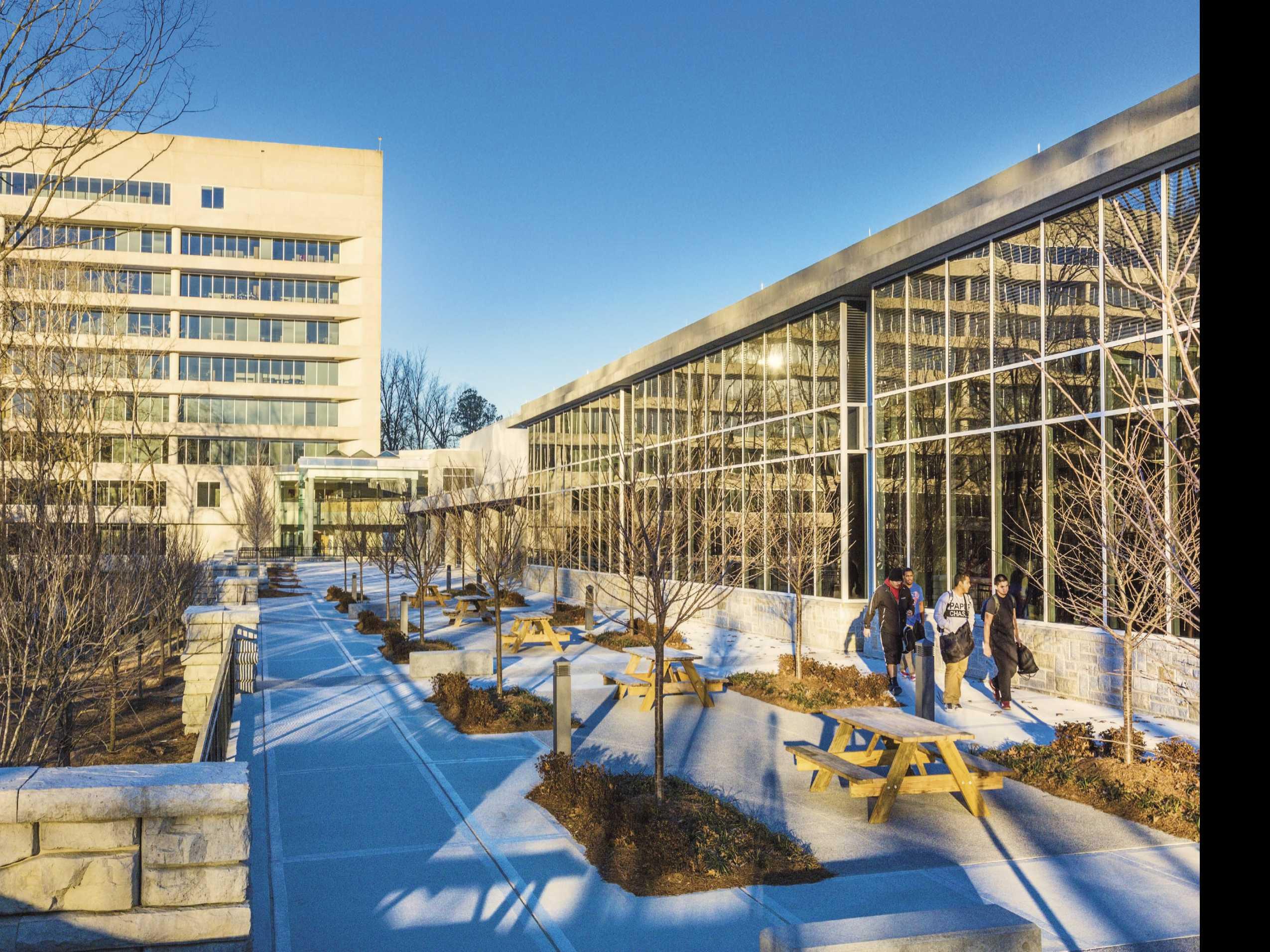 Vacant Office Parks Repurposed as School, College Buildings