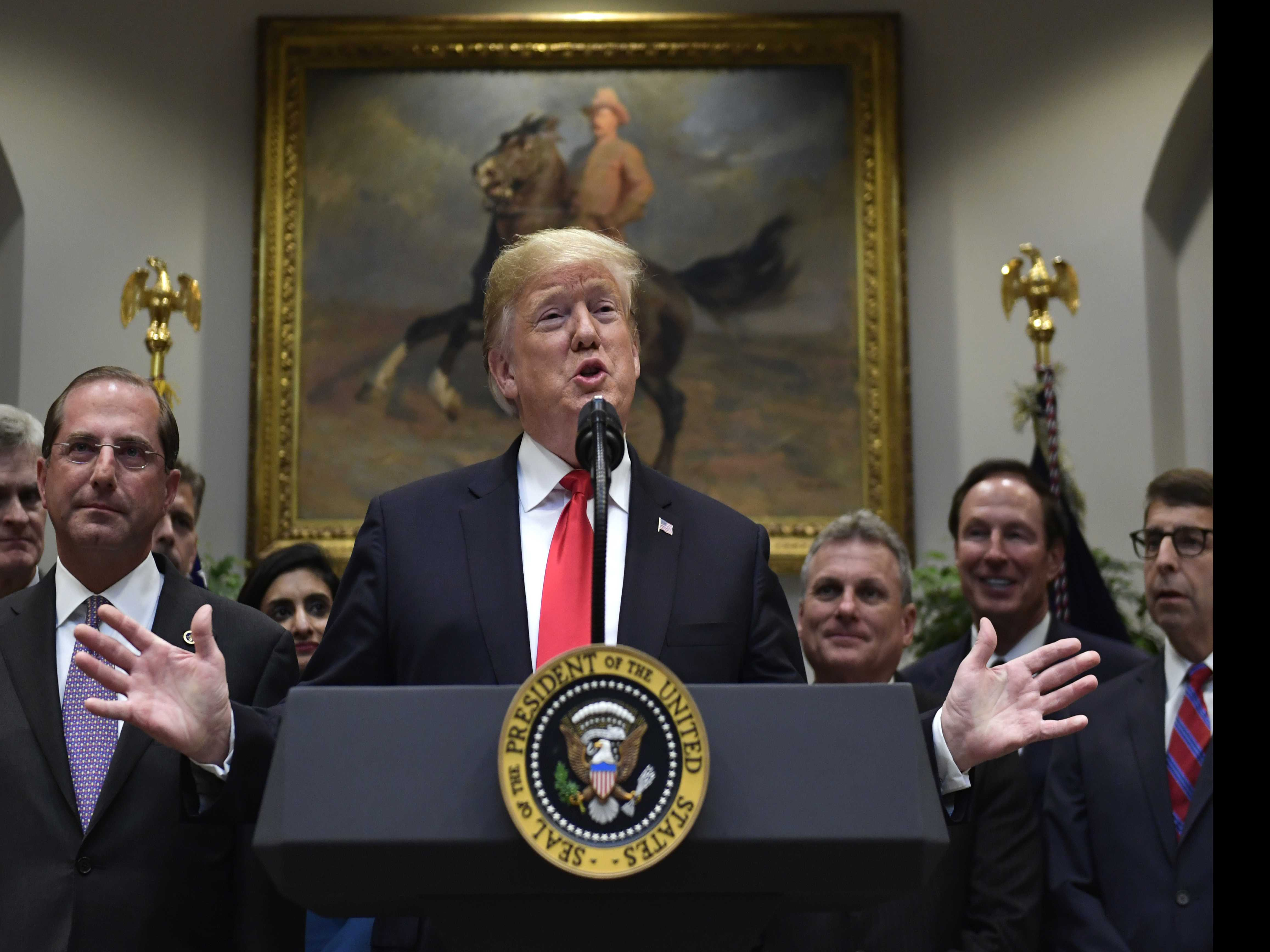 AP FACT CHECK: Trump's View of 'Medicare for All' Simplistic