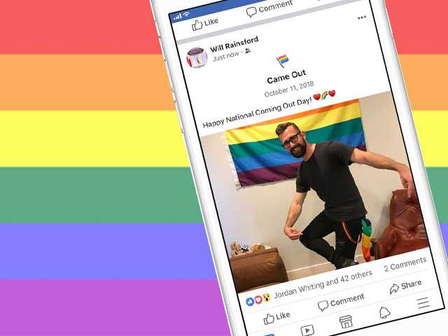 Facebook Marks Coming Out Day with 'Came Out' Addition