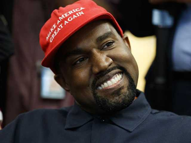No Surprise: Kanye's Free-Style Riffs Dominate Oval Office