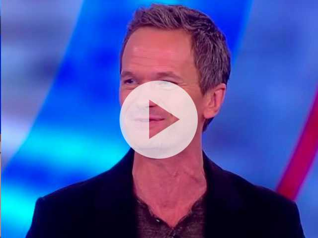 Watch: In Strange Interview, Neil Patrick Harris Says Whoopi Promised Him Sex