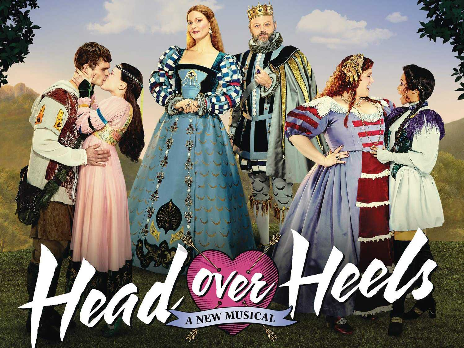 Review :: Head Over Heels - Original Broadway Cast Album