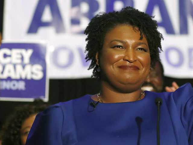 Abrams Makes Historic Appearance at Atlanta LGBT Parade