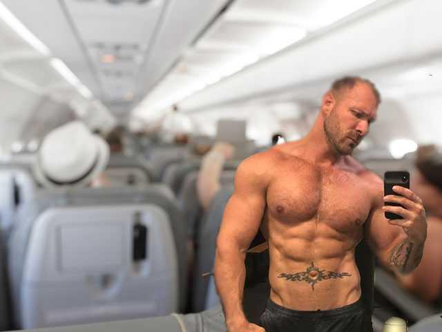 Delta Airlines Suspends Flight Attendant for Sex Vid with Gay Porn Star Filmed in Bathroom