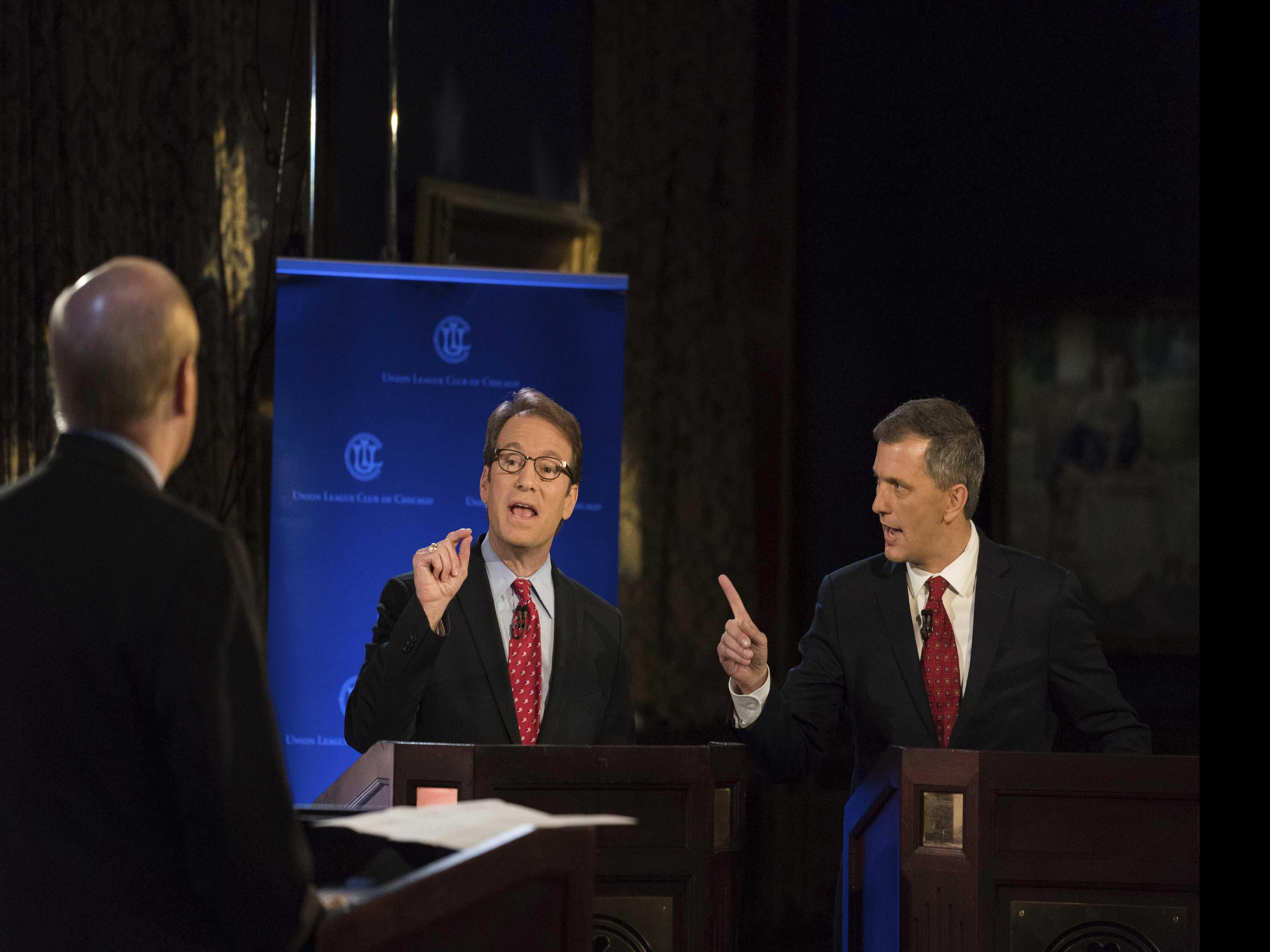 GOP Veteran Struggles to Adjust As Seat Suddenly Isn't Safe