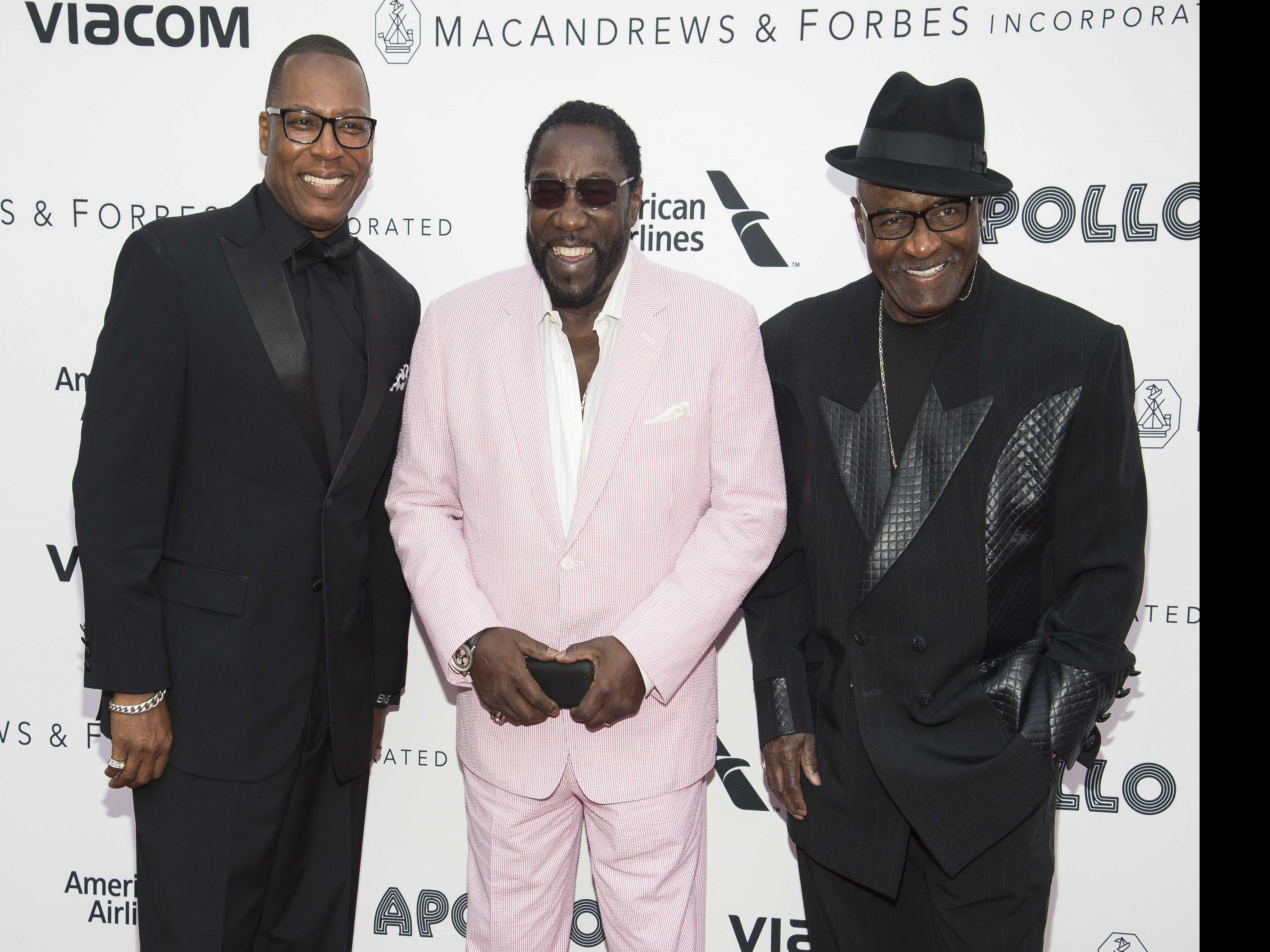 Old-school R&B Group The O'Jays Get into a Political Groove
