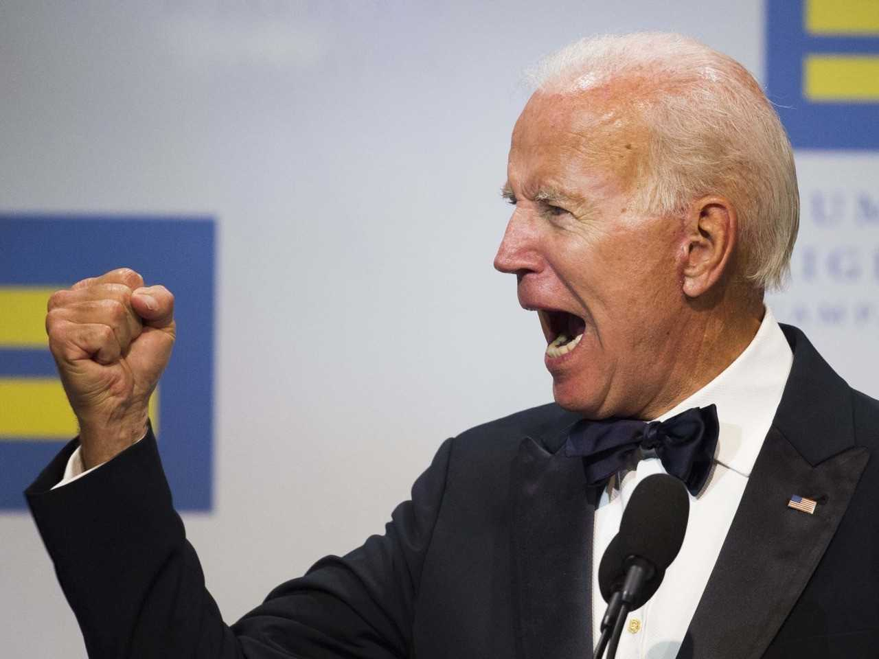 Biden Says American Values Are Being 'Shredded' Under Trump