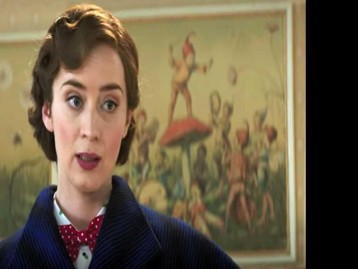 Emily Blunt Sings in New 'Mary Poppins' Trailer