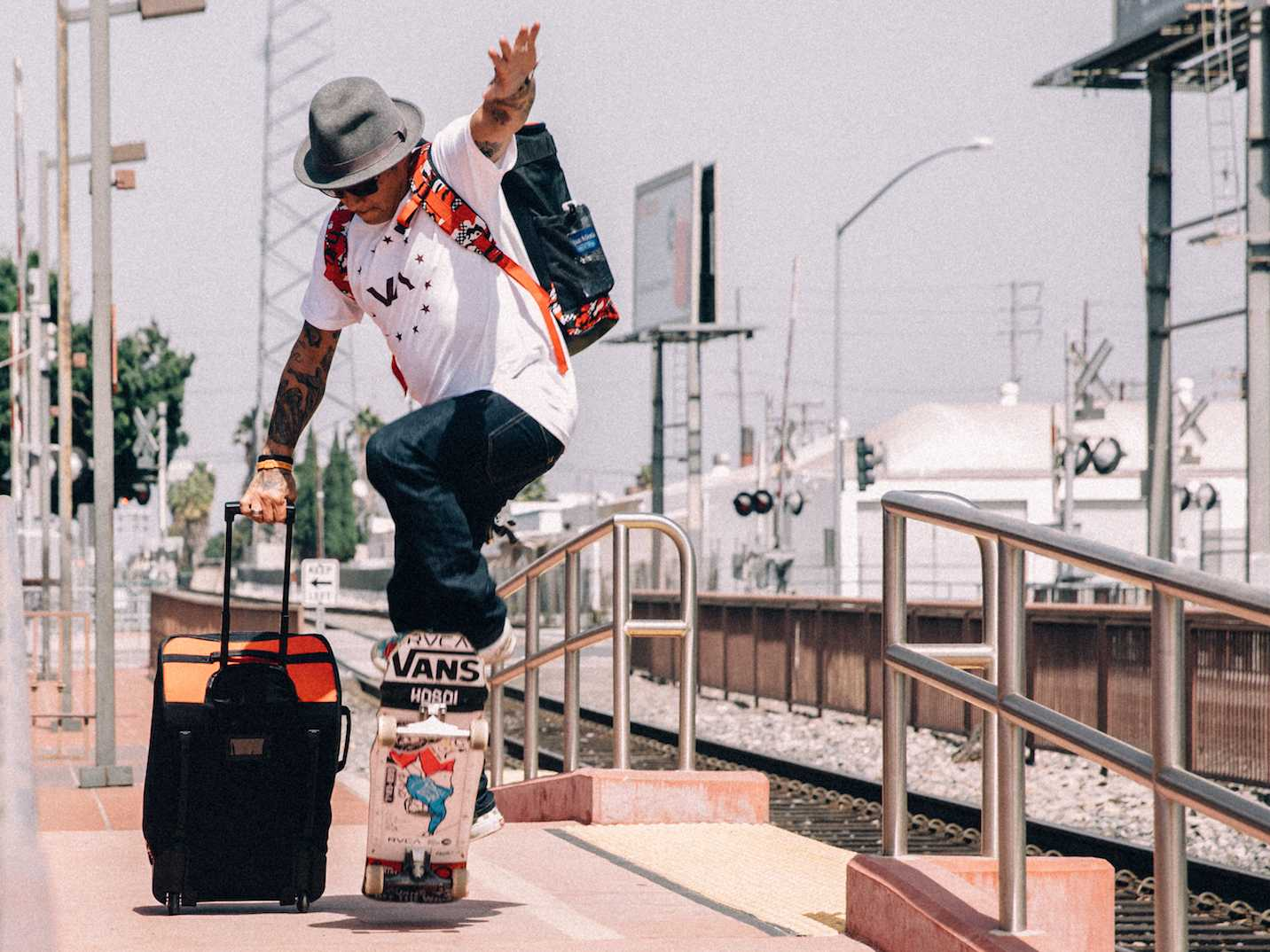 HEX Releases Capsule Collection with Skateboarder Christian Hosoi