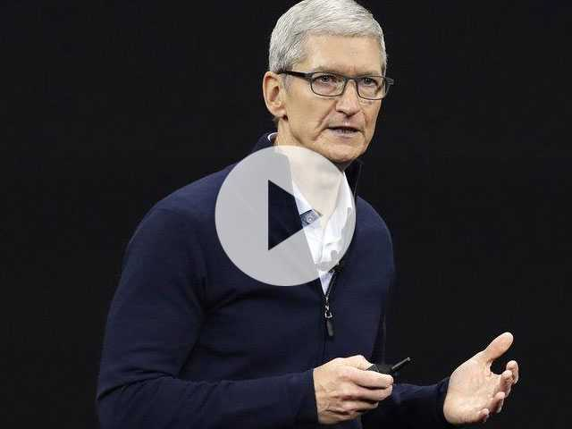 Watch: Apple CEO Tim Cook Says Being Gay is 'God's Greatest Gift to Me'