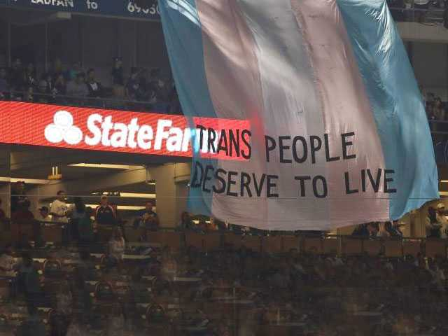 Watch: Trans Rights Group Takin' It to the Stands with Supportive Banner at World Series