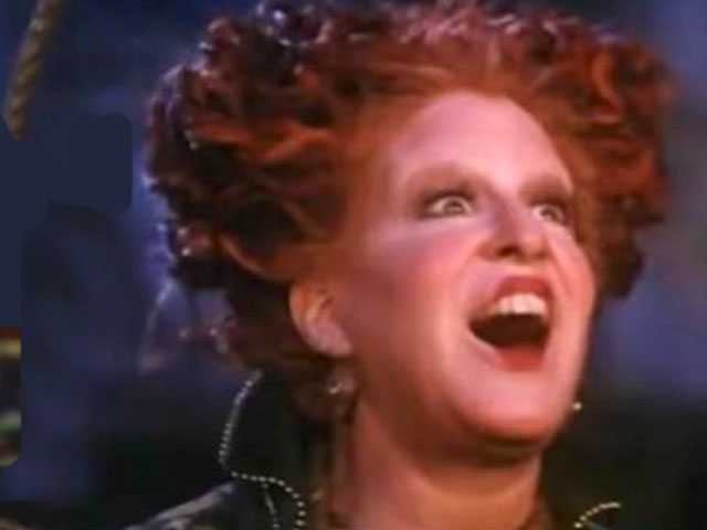 PopUps: Bette Midler Reacts to Watching 'Hocus Pocus' for the First Time in 20 Years