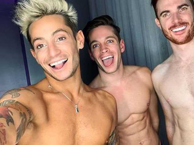 Frankie Grande Says He's in a Thruple with a Married Couple