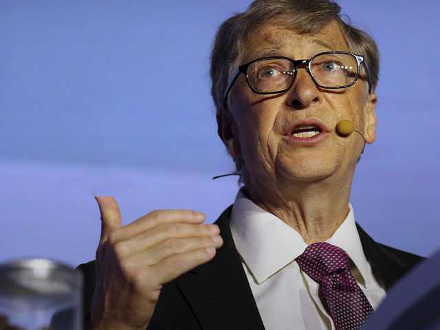 With Poo on the Podium, Bill Gates Talks Toilet Technology