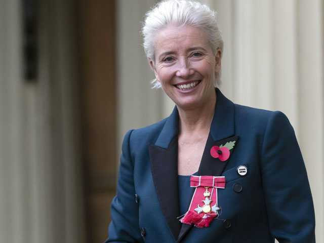Call Her a Dame: Emma Thompson Gets Top British Award