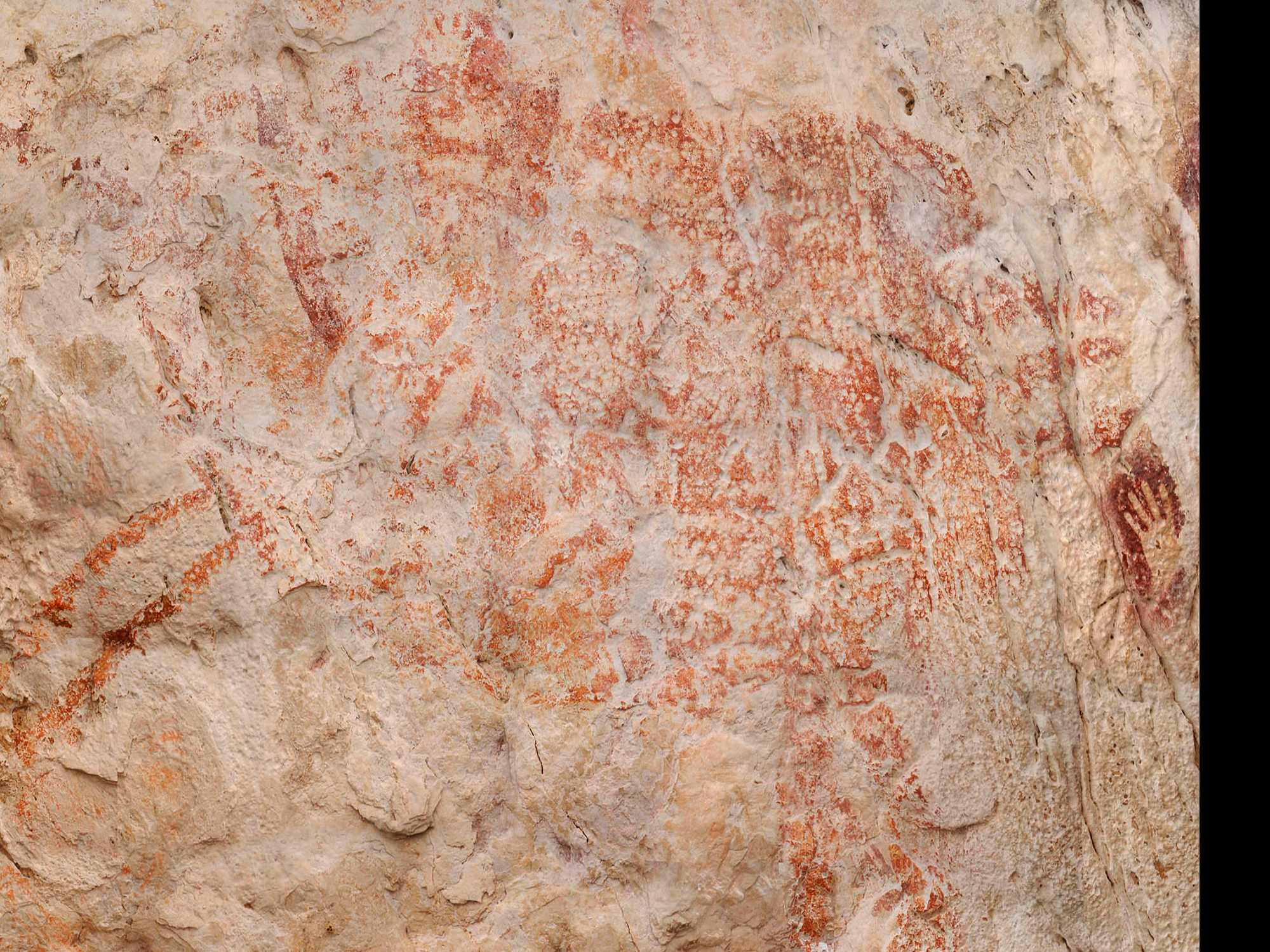 Red Bull Drawn in Indonesian Cave Dated to 40,000 Years Ago
