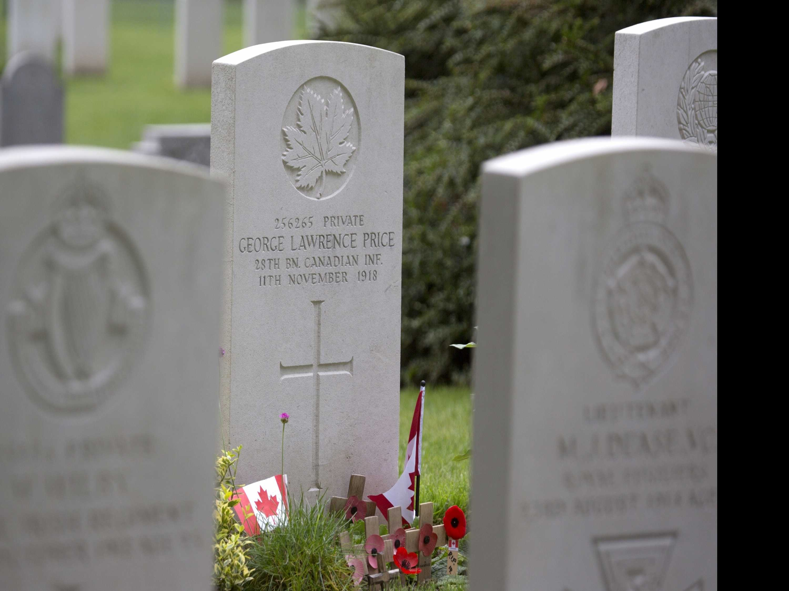 Death in the Final Minutes of WWI Highlighted Folly of War