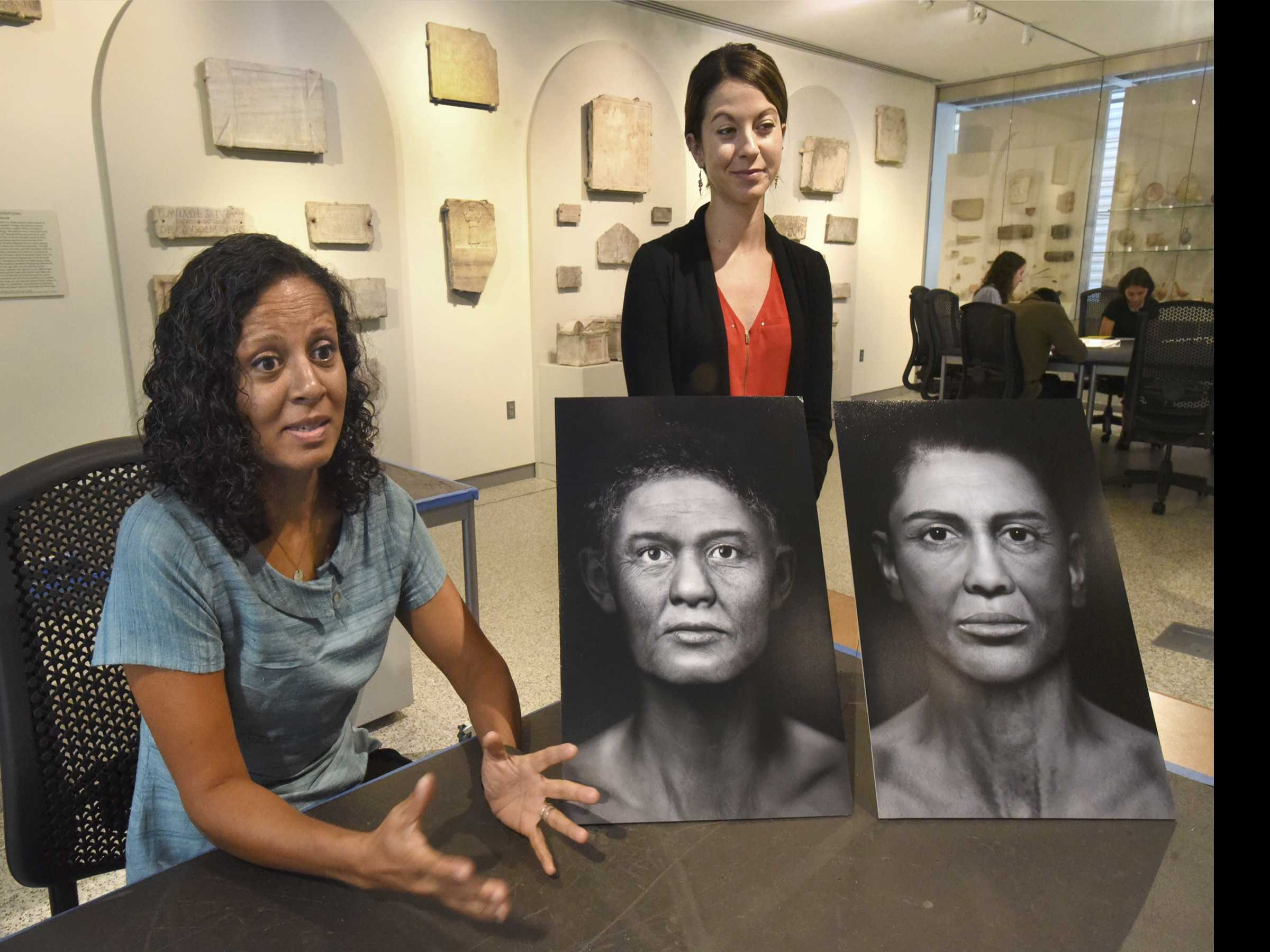 Exhibit Offers Portraits of Mummified Ancient Egyptians