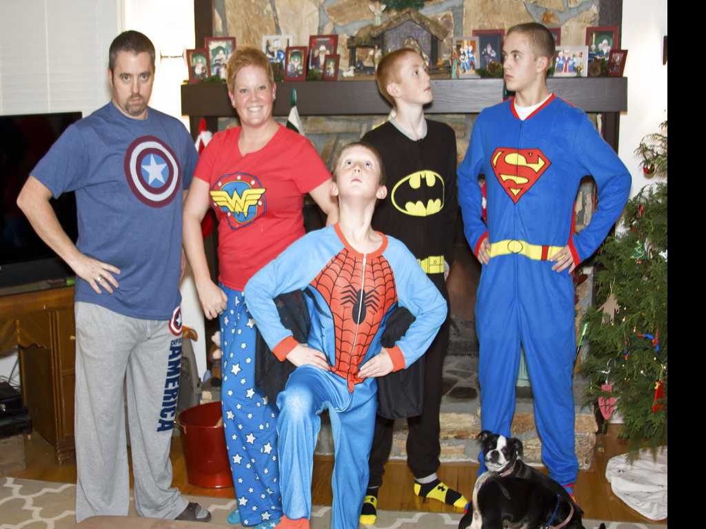 For Many Families, 'Tis the Season for Matching Jammies