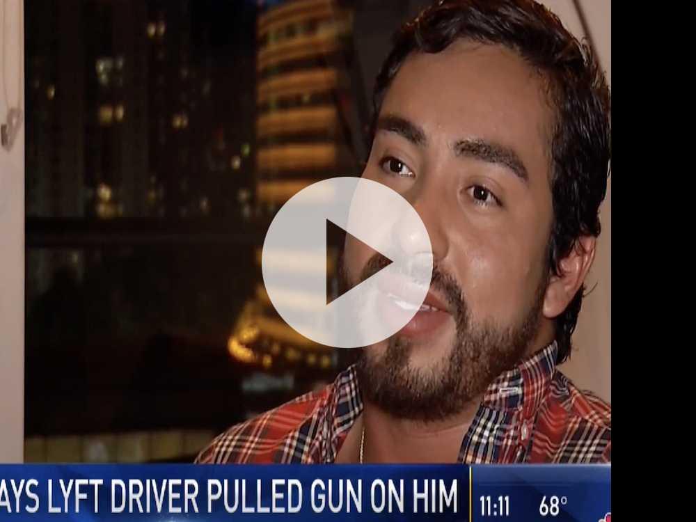 Watch: Man Says Fla. Lyft Driver Pulled Gun On Him, Used Gay Slur