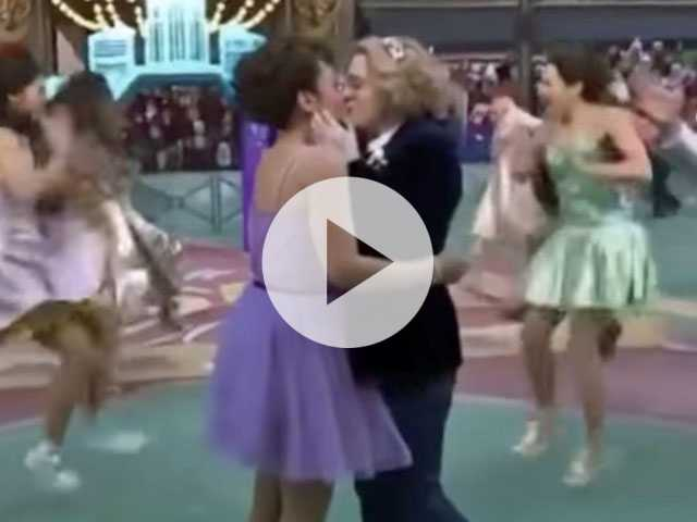 Watch: After Macy's Thanksgiving Day Parade Airs 1st Gay Kiss, Conservatives Freak Out & Twitter Reacts