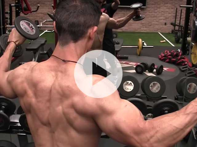 Workout Wednesday: How to Build Big Shoulders