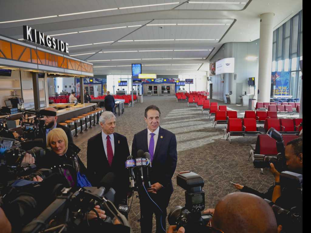 It's Real: First New Concourse Opens at La Guardia Airport