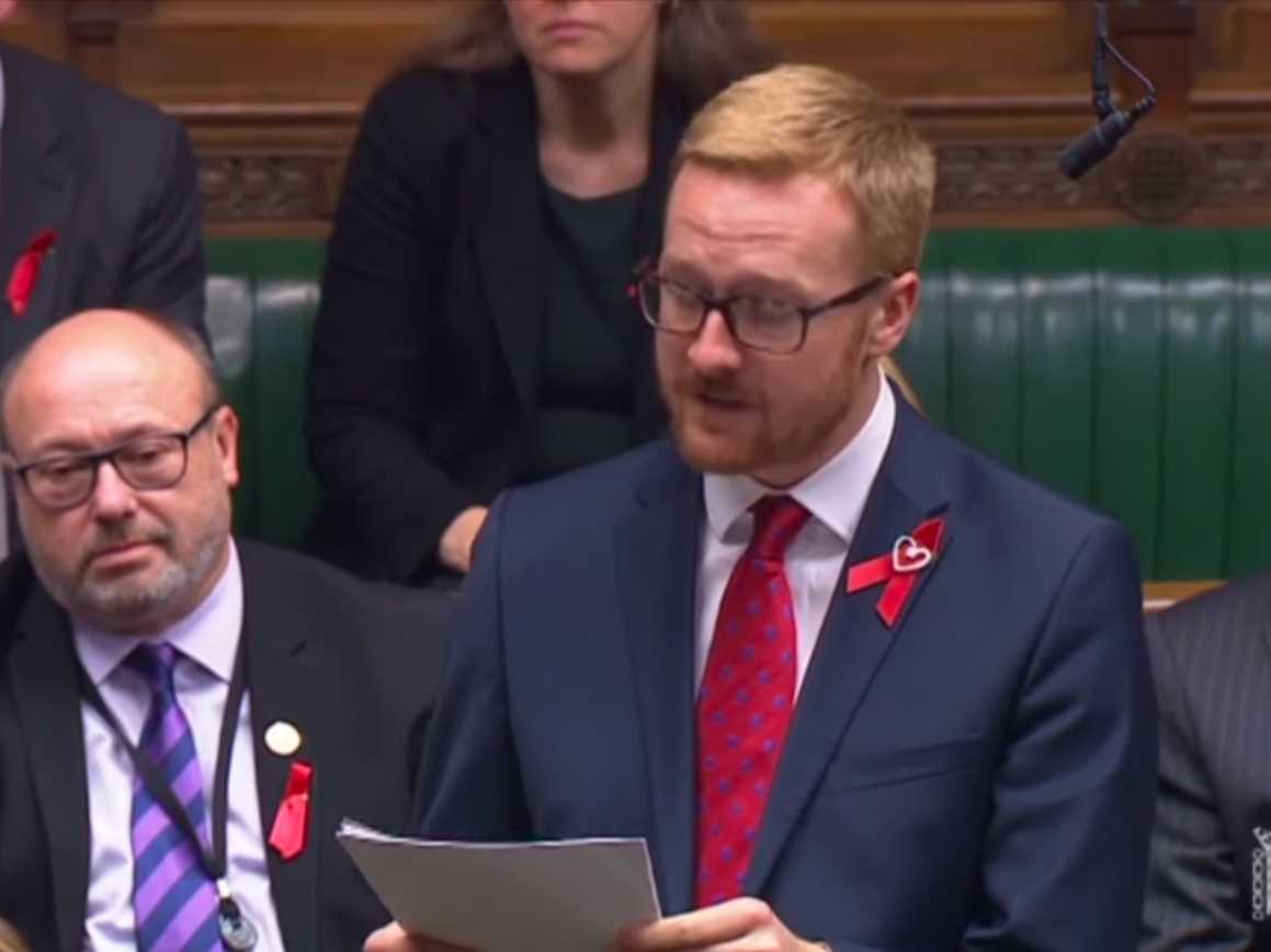British MP Comes Out — As HIV-Positive