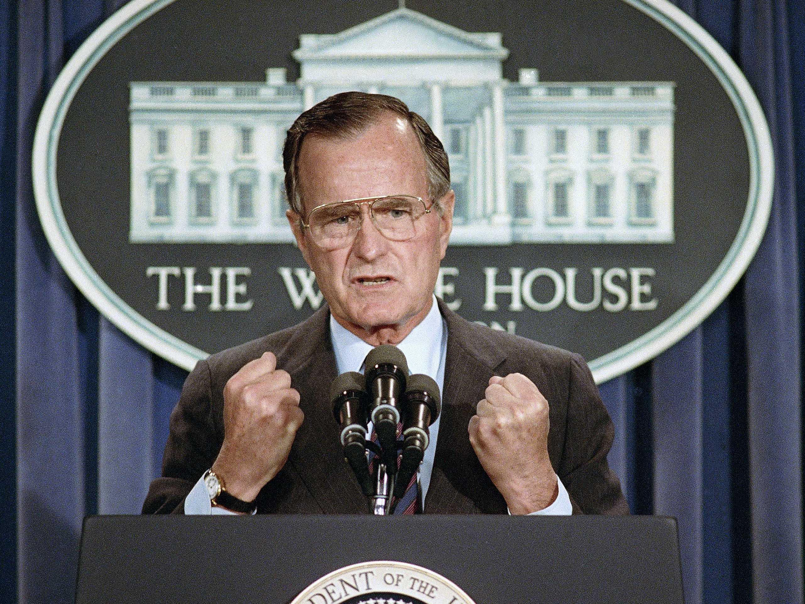 George H.W. Bush, 'Kinder and Gentler' President, Dies at 94