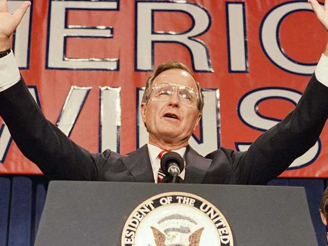 Twitter Reacts to George H.W. Bush's Death, Calls Out Lack of AIDS Activism