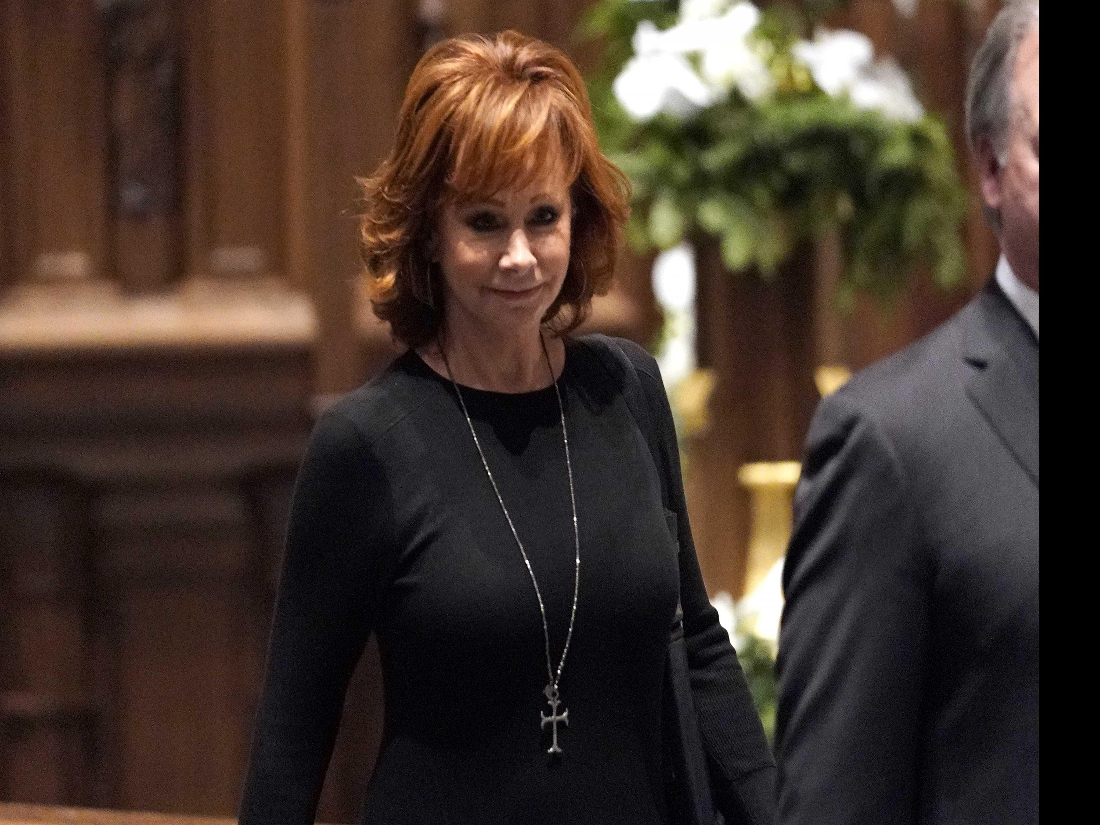 Reba McEntire, Oak Ridge Boys Sing at Bush's Texas Funeral
