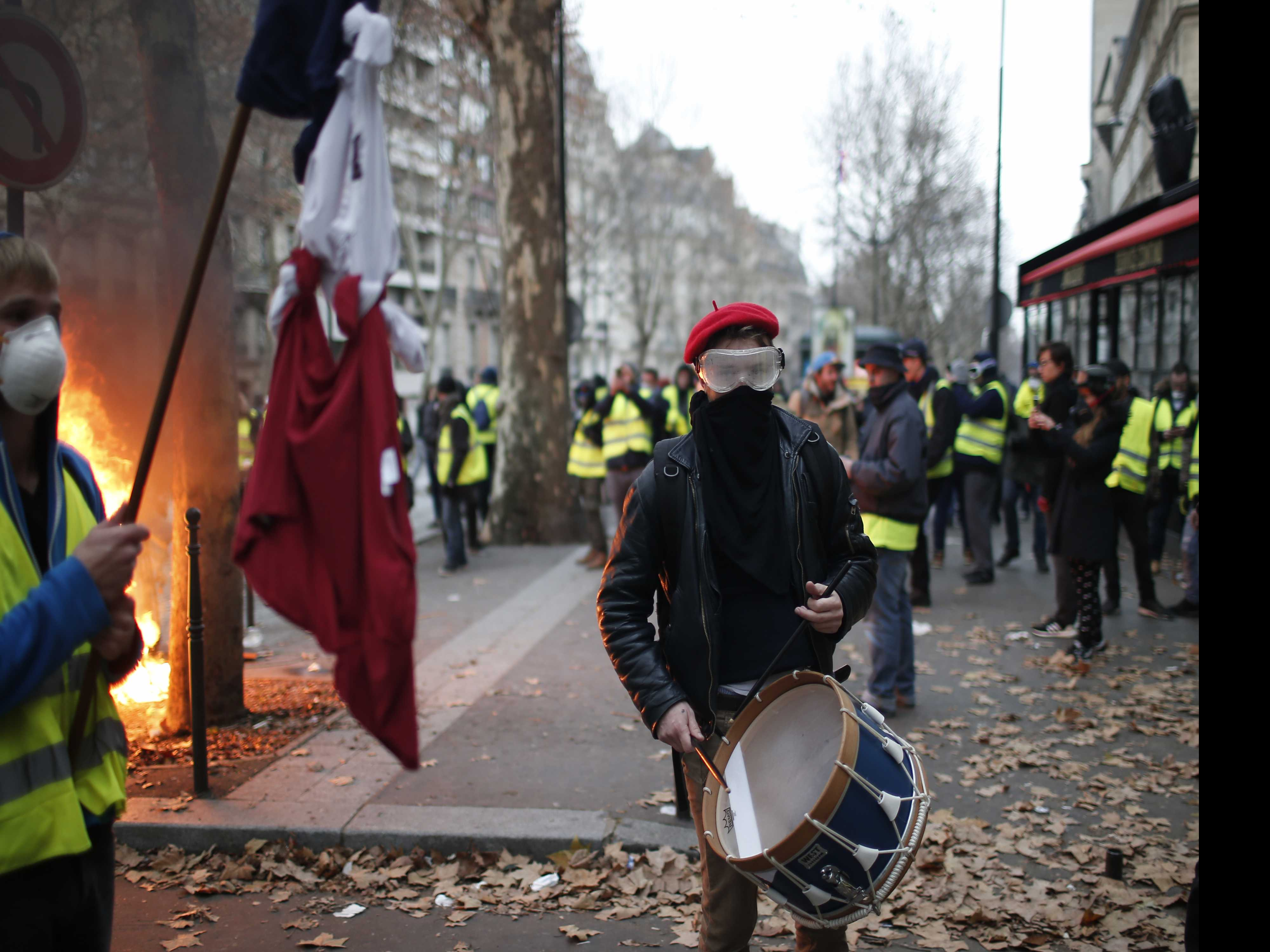 Macron to Break Silence, Address French Nation Amid Protests