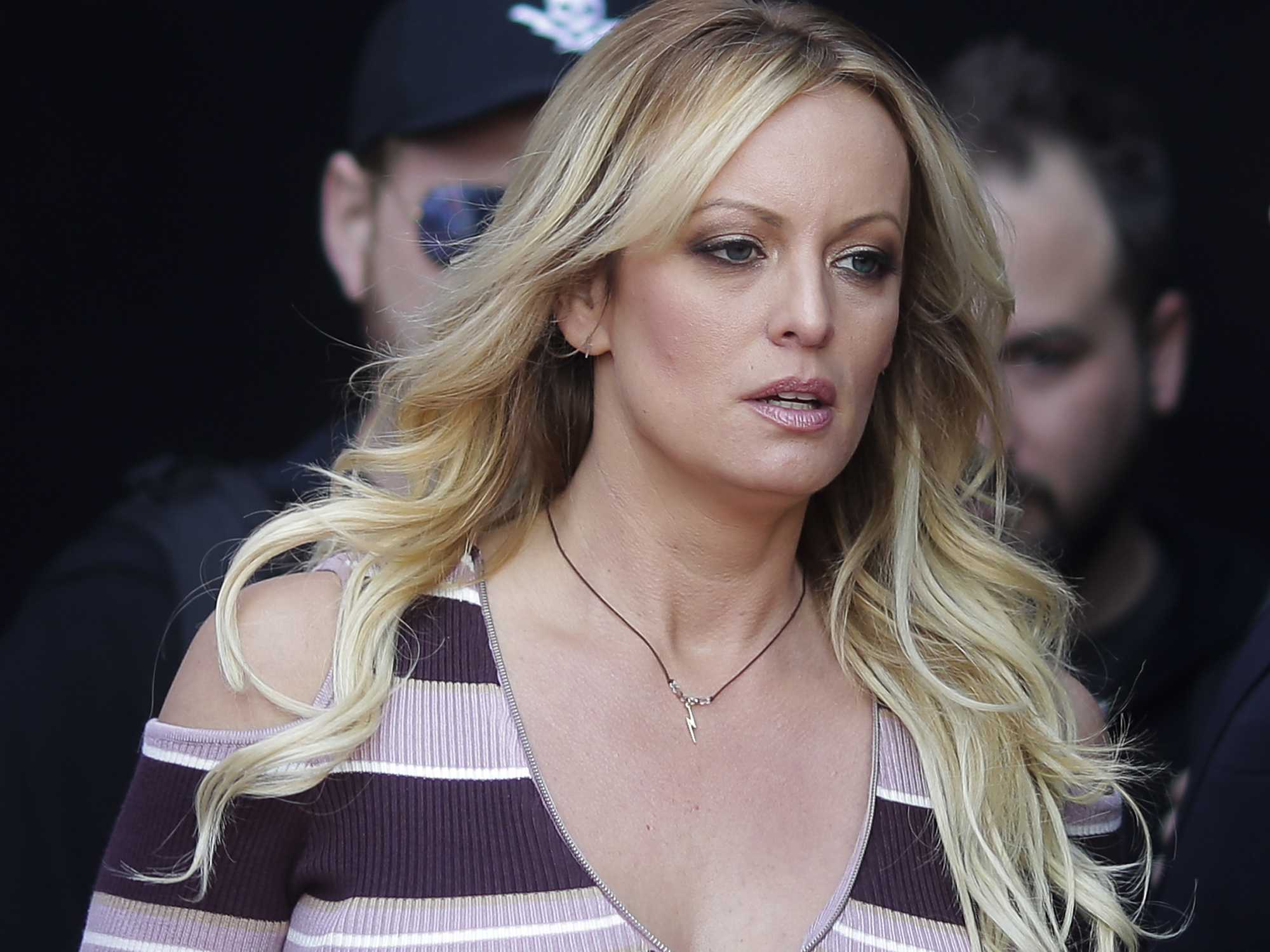 Stormy Daniels Protests Law Raising Age for Exotic Dancers