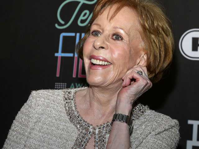 New Golden Globes Honor Will be Named After Carol Burnett