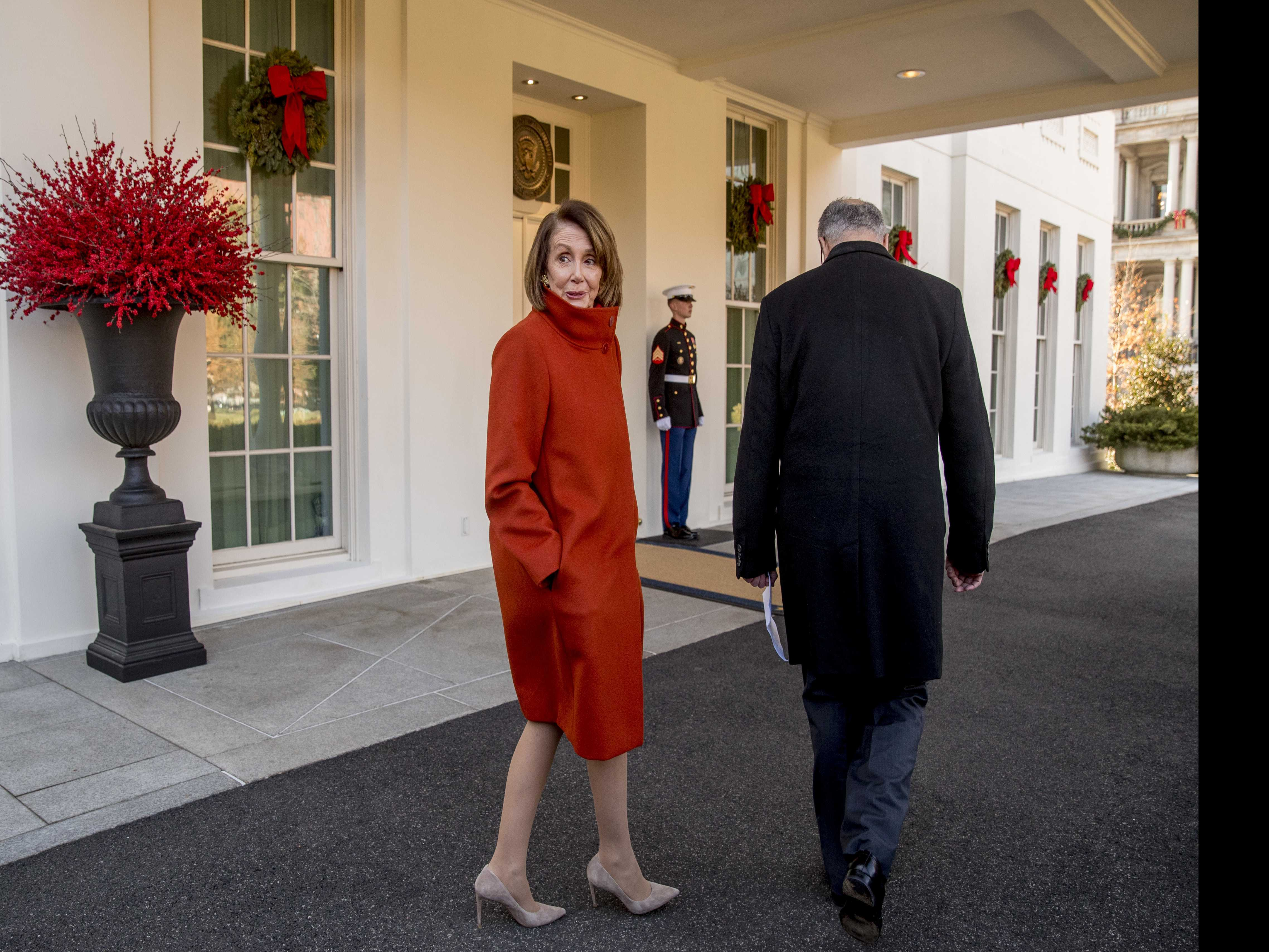 Pelosi Gives Trump an Earful, Questions 'Manhood' in Private