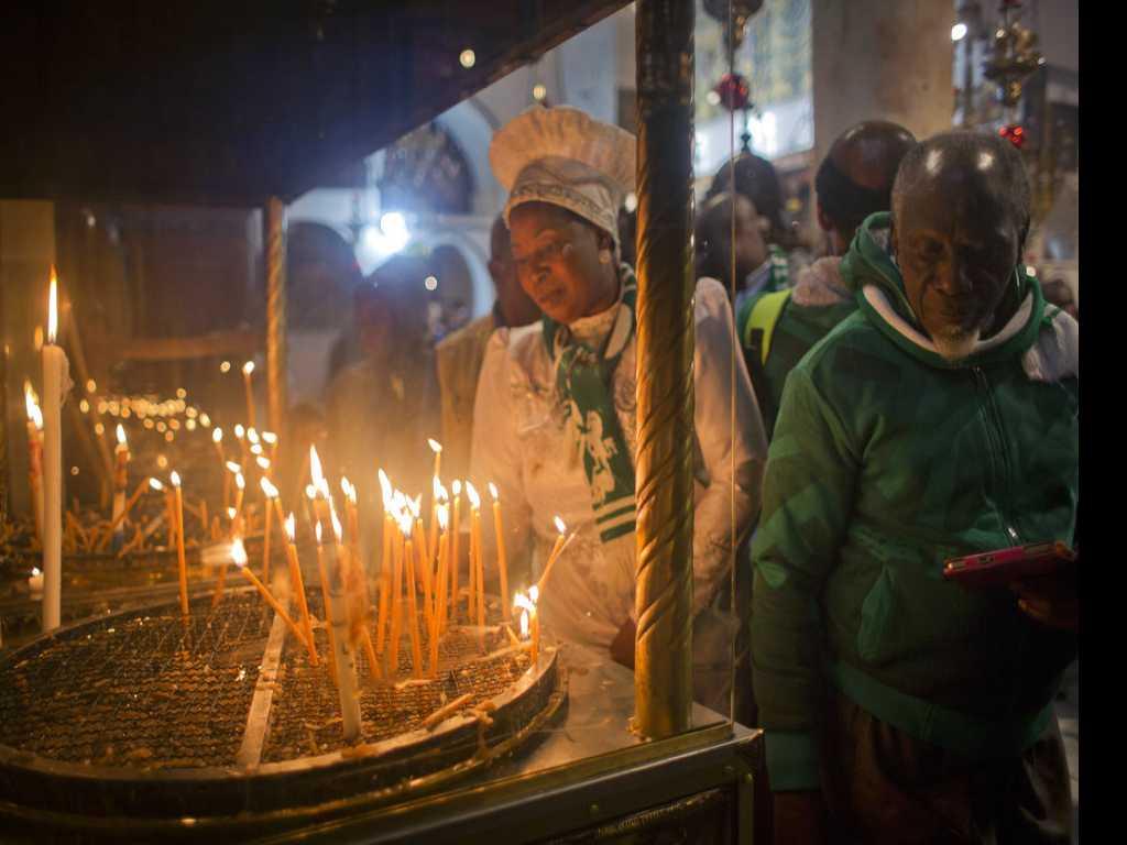 Christmas Festivities Begin in Bethlehem