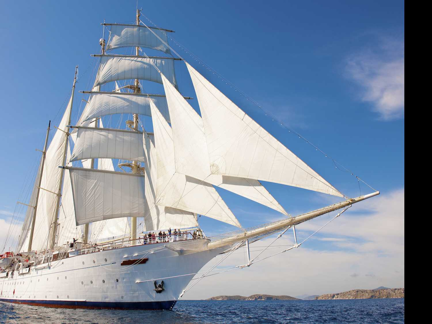 Come Sail Away: A Seafaring Adventure Aboard Star Clippers