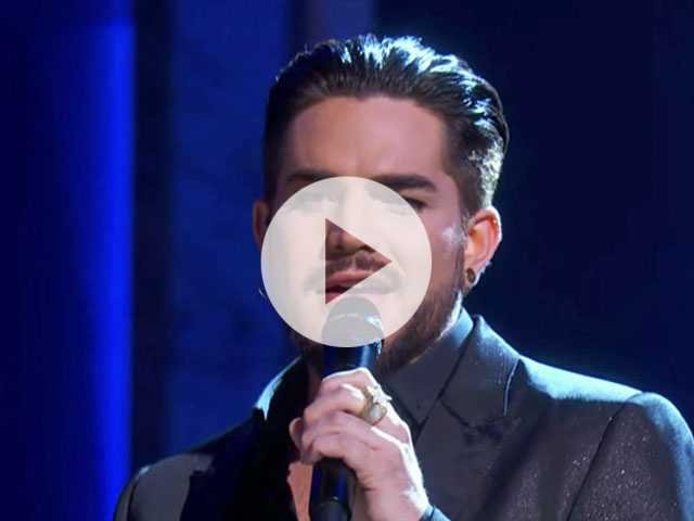 Watch: Adam Lambert Performs an Emotional Cover of Cher's 'Believe'