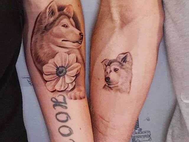 Gus Kenworthy and Boyfriend Matt Wilkas Get Matching Tattoos of Their Dog