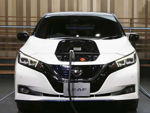 Nissan Unveils New Leaf Car After Ghosn's Arrest Delays It